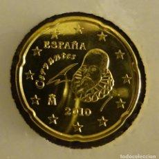Euros: ESPAÑA 20 CÉNTIMOS DE EURO 2010. SIN CIRCULAR. Lote 195023517