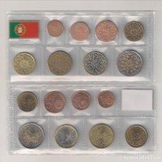 Euros: MONEDAS DE EUROS DE PORTUGAL DE 2002. SIN CIRCULAR.. Lote 195216583