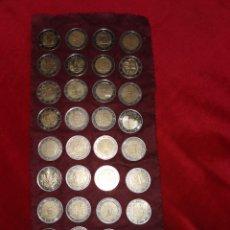 Euros: COLECCIÓN DE 36 MONEDAS DE 2 EUROS. Lote 195243213