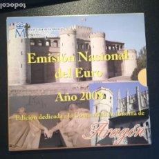 Euros: EMISION NACIONAL DEL EURO AÑO 2008 ARAGON SET 8 MONEDAS + MEDALLA SIN CIRCULAR FMNT. Lote 195274060