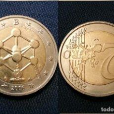 Euros: 2€ ERROR VARIANTE BÉLGICA 2006 ATOMIUM REVERSO GIRADO 180º. Lote 195326121