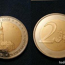 Euros: 2€ ERROR VARIANTE ALEMANIA 2008 MAPA ANTIGUO. Lote 195328443