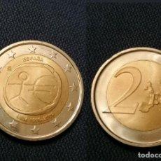 Euros: 2€ ERROR VARIANTE ESPAÑA ESTRELLAS GRANDES 2009 . Lote 195329301