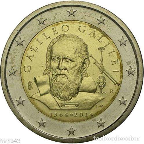 ITALIA 2014 2€ GALILEO (Numismática - España Modernas y Contemporáneas - Ecus y Euros)