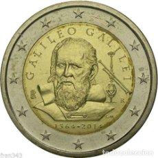 Euros: ITALIA 2014 2€ GALILEO. Lote 203312256