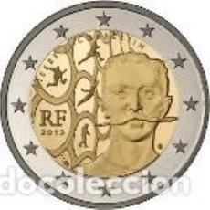 Euros: FRANCIA 2013. 2 EUROS. 150 ANIVERSARIO DEL NACIMIENTO DEL BARÓN PIERRE DE COUBERTIN. S/C. Lote 254222765