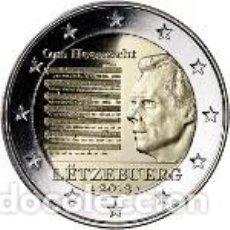 Euros: LUXEMBURGO 2013. 2 EUROS. HIMNO NACIONAL. S/C. Lote 270194163