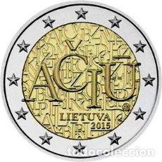 Euros: LITUANIA 2015. 2 EUROS. IDIOMA LITUANIO. S/C. Lote 254222815