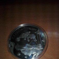 Euros: ESPAÑA -MONEDA- 50 EUROS 2004 PLATA Y ORO ( 168,75 GR. ) ENCAPSULADA DALI. Lote 196048531