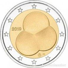 Euros: FINLANDIA 2019. MONEDA DE 2 EUROS CONMEMORATIVA DE LA CONSTITUCION DE 1919. DE ROLLO.. Lote 196297947