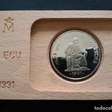 Euros: MONEDA DE PLATA 5ECU DE 1991. Lote 196661557