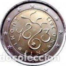 Euros: FINLANDIA 2013. 2 EUROS. 150 ANIVERSARIO DEL PARLAMENTO DE 1863. S/C. Lote 254222380