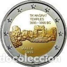 Euros: MALTA 2019. 2 EUROS. TEMPLOS DE TA' ĦAĠRAT. S/C. Lote 254223245