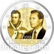 Euros: LUXEMBURGO 2018. 2 EUROS.175 ANIVERSARIO DE LA MUERTE DEL GRAN DUQUE GUILLERMO I. Lote 270194248