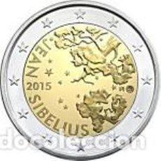 Euros: FINLANDIA 2015. 2 EUROS. 150 ANIVERSARIO DEL NACIMIENTO DE JEAN SIBELIUS. S/C. Lote 213483702