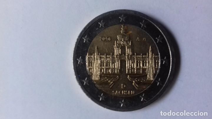 MONEDA DE 2 EUROS ALEMANA DEL AÑO 2016 (Numismática - España Modernas y Contemporáneas - Ecus y Euros)