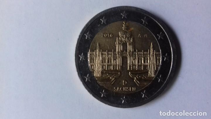 Euros: Moneda de 2 Euros Alemana del año 2016 - Foto 3 - 197295487