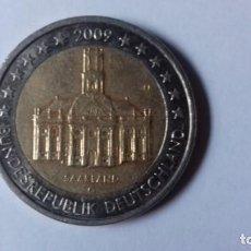 Euros: MONEDA DE 2 EUROS ALEMANA DEL AÑO 2009. Lote 197295896