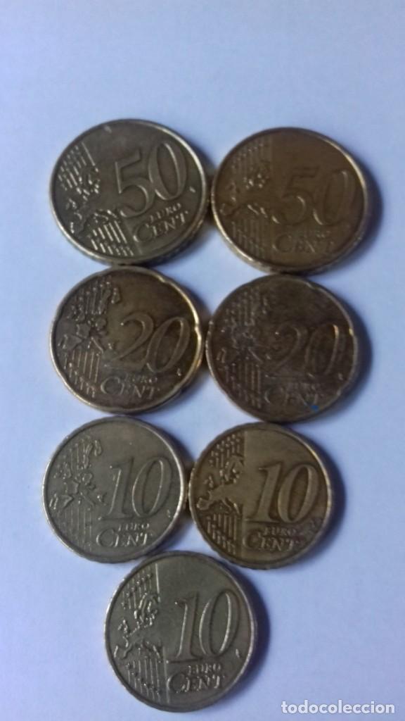 Euros: Lote de monedas de varios centimos - Foto 23 - 197297305