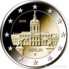Euros: ALEMANIA 2018 2€ ESTADO DE BERLÍN PALACIO DE CHARLOTTENBURG. Lote 228996756