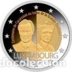 Euros: LUXEMBURGO 2019. 2 EUROS. CENTENARIO DE LA ASCENSIÓN AL TRONO DE LA GRAN DUQUESA CARLOTA. Lote 254223205