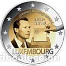 Euros: LUXEMBURGO 2019. 2 EUROS. CIEN AÑOS DEL SUFRAGIO UNIVERSAL EN LUXEMBURGO. S/C. Lote 200287867
