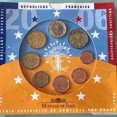 Euros: BLISTER MONNAIE DE PARIS EUROSET 2006 BU. Lote 200819838