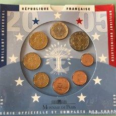 Euros: BLISTER MONNAIE DE PARIS EUROSET 2005 BU. Lote 200819948