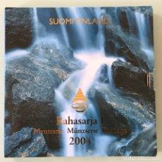Euros: BLISTER O CARTERITA FINLANDIA EUROSET 2004 BU. Lote 200828113