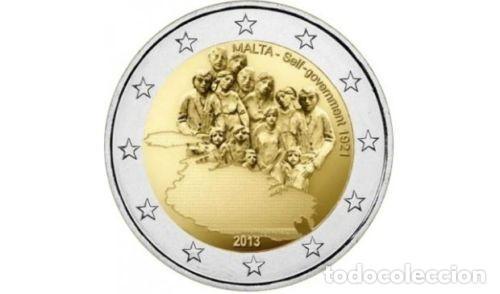MALTA 2013 2€ HISTORIA CONSTITUCIONAL. AUTOGOBIERNO DE 1921 (Numismática - España Modernas y Contemporáneas - Ecus y Euros)
