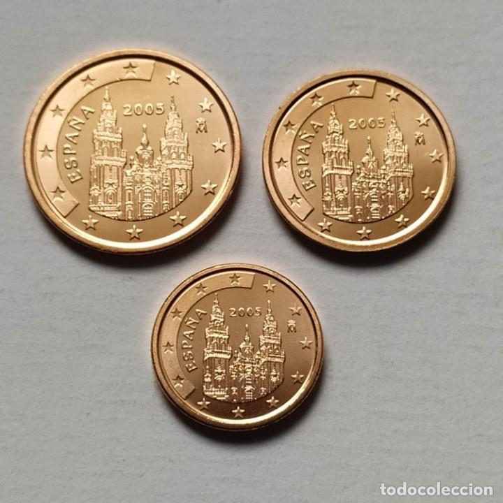 ## ESPAÑA - 5,2 Y 1 CÉNTIMOS 2005 -SIN CIRCULAR ## (Numismática - España Modernas y Contemporáneas - Ecus y Euros)