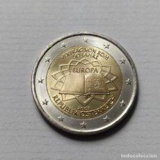 Euros: ## AUSTRIA - 2 EUROS CONMEMORATIVOS TRATADO DE ROMA 2007 -SIN CIRCULAR ##. Lote 204434340