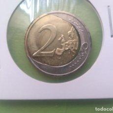 Euros: IMPRESIONANTE MONEDA ERROR HUEVO FRITO 2 EUROS SC. Lote 204512337