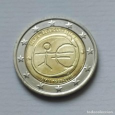 Euros: ## BÉLGICA - 2 EUROS CONMEMORATIVOS EMU 2009 SIN CIRCULAR ##. Lote 204576957
