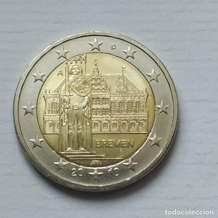 ## ALEMANIA - 2 EUROS CONMEMORATIVOS 2010 A SIN CIRCULAR ## (Numismática - España Modernas y Contemporáneas - Ecus y Euros)