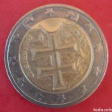 Euros: PRECIOSOS 2 EUROS ESLOVAQUIA 2009. Lote 204994273