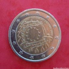 Euros: 2 EUROS CONMEMORATIVOS DE LA BANDERA EUROPEA, ALEMANIA CECA F. 1985-2015. Lote 204998196