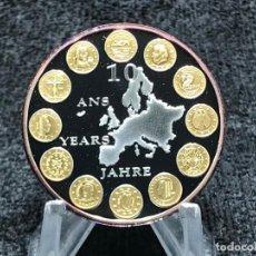 Euros: MONEDA CONMEMORATIVA 10 AÑOS DEL EURO. Lote 205137491