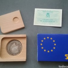 Euros: MONEDA 5 ECU 1991.. Lote 205245573