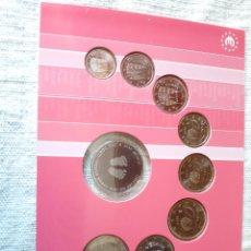 Euros: RARO ESTUCHE 2003 ESPAÑA/ HOLANDA EUROS 2003 ESPAÑA MEDALLA DE MI AÑO NACIMIENTO PARA GRABAR. Lote 205715900