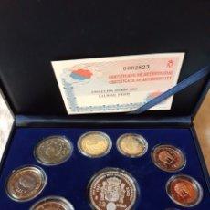 Euros: ESPAÑA COLECCION EUROS 2003 PROOF FNMT CERTIFICADO CON MONEDA 12 EUROS CONSTITUCIÓN EUROPEA. Lote 205718405