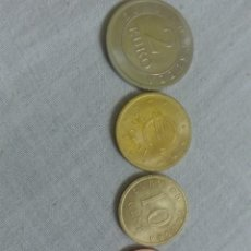 Euros: LOTE 4 MONEDAS DE EURO EN PRUEBA. 2 CÉNTIMOS, 20 CÉNTIMOS, 10 CÉNTIMOS, Y 2 EUROS.. Lote 205799723