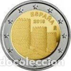 Euros: ESPAÑA 2019. 2 EUROS. PATRIMONIO MUNDIAL - MURALLA DE ÁVILA. S/C. Lote 254223580
