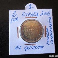 Euros: 2 EUROS. 2005. ESPAÑA. EL QUIJOTE. MONEDA CONMEMORATIVA.. Lote 206401826