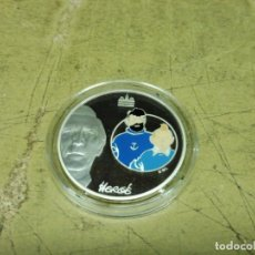 Euros: MONEDA FRANCIA 2007, 1,50 EURO PLATA PROOF SERIE TINTIN Y CAPITAN COLOR. MUY EXCLUSIVA. Lote 206570005