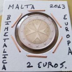 Euros: MONEDA 2 EUROS MALTA 2013 MBC ENCARTONADA. Lote 206575967
