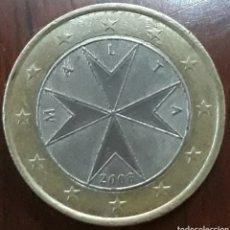 Moneda malta 1 euro 2008