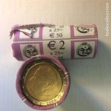 Euros: BELGICA 2006. 2 EUROS. CARA COMÚN. ROLLO. CARTUCHO.. Lote 208125463