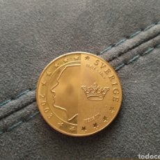 Euros: MONEDA DE 5 EUROS SUECIA PRUEBA AÑO 2003 SIN CIRCULAR. Lote 208783530