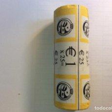Euros: BÉLGICA 2009 ROLLO DE 1 EURO. CARTUCHO.. Lote 208878503